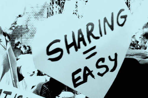 Sharing @ Occupy Amsterdam