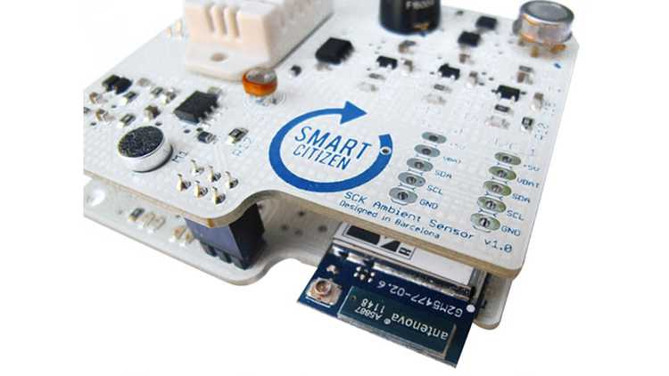 Amsterdam Smart Citizen kit