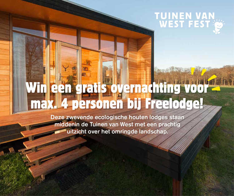 Freelodge winnen